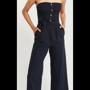 Abercrombie rust colored summer jumpsuit!